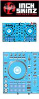 ■ご予約受付■ 12inch SKINZ / Pioneer DDJ-SR SKINZ (Lite Blue) 【DDJ-SR用スキン】