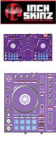 ■ご予約受付■ 12inch SKINZ / Pioneer DDJ-SR SKINZ (Purple) 【DDJ-SR用スキン】