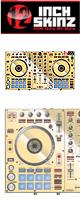 12inch SKINZ / Pioneer DDJ-SR SKINZ Metallics (Mirror Gold) 【DDJ-SR用スキン】