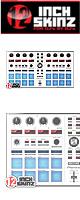 ■ご予約受付■ 12inch SKINZ / Pioneer DDJ-SP1 SKINZ (White/Gray) 【DDJ-SP1用スキン】