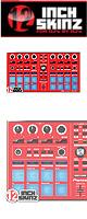 ■ご予約受付■ 12inch SKINZ / Pioneer DDJ-SP1 SKINZ (Red) 【DDJ-SP1用スキン】