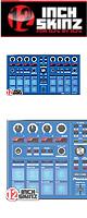 ■ご予約受付■ 12inch SKINZ / Pioneer DDJ-SP1 SKINZ (Blue) 【DDJ-SP1用スキン】