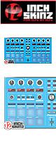 12inch SKINZ / Pioneer DDJ-SP1 SKINZ (Lite Blue) 【DDJ-SP1用スキン】