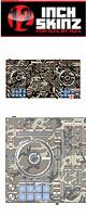 12inch SKINZ / Pioneer DDJ-SX SKINZ (Camoflage Woodland) 【DDJ-SX用スキン】