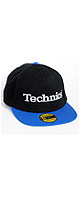 ■ご予約受付■ Technics(テクニクス) / 3D Snapback Cap (BLACK / ROYAL BLUE PEAK) - キャップ -
