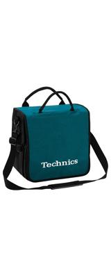 Technics(テクニクス) / BackBag (Turquoise/White) 【レコード約60枚収納可】 レコードバッグ