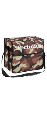 Technics(テクニクス) / DJ Bag (Camouflage Brown) 【約60枚レコード収納】 - DJバッグ -