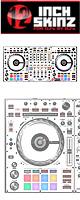 12inch SKINZ / Pioneer DDJ-SZ SKINZ (WHITE/BLACK) 【DDJ-SZ用スキン】