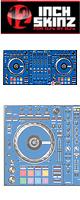 12inch SKINZ / Pioneer DDJ-SZ SKINZ (BLUE) 【DDJ-SZ用スキン】