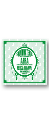 AFRA / Sound Material Artist Series Vol.1 by AFRA [CD] 【サンプリング用音ネタ】 バトルブレイクス CD