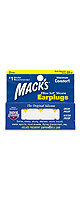 Mack's(マックス) / Pillow Soft White Silicone Earplugs (5EP)  - 耳栓(2ペア入り) -