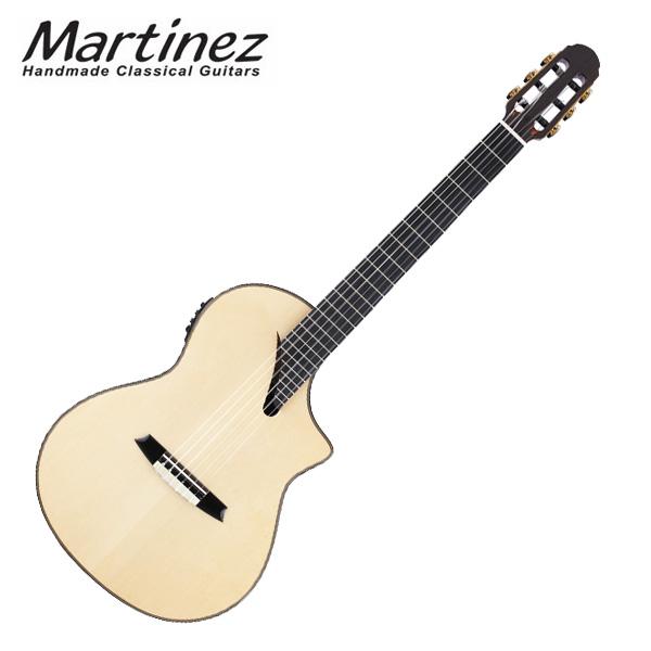 【次回入荷予定確認中】Martinez(マルチネス) / MSCC-14 RS(スプルースTOP/ローズBACK) - エレガットギター - ■限定セット内容■→ 【・フットレスト 】