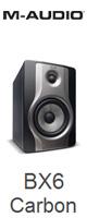 M-Audio(エム・オーディオ) / BX6 Carbon [130W] - 6インチ・2ウェイアクティブ・スピーカー - [1本販売] ■限定セット内容■→ 【・最上級エージング・ツール 】