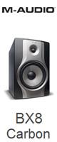 M-Audio(エム・オーディオ) / BX8 Carbon [130W] - 8インチ・2ウェイアクティブ・スピーカー - [1本販売] ■限定セット内容■→ 【・最上級エージング・ツール 】