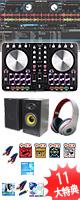 """Reloop(リループ) / BEATMIX 2 スターターBセット  (Serato DJ Intro 無償) ■限定セット内容■→ 【・ミックスCD作成KIT ・金メッキ接続ケーブル ・教則DVD ・セッティングマニュアル ・MS-210J  ・OV-X8 ・DJ必需CD 計""""5枚""""】"""