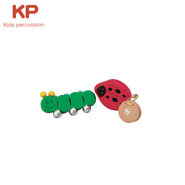 Kids Percussion(キッズパーカッション) / インセクトセット (BKP-168/IS)  - 幼児楽器 -