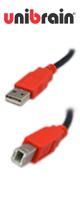"""""""世界最上NO.1"""" USBケーブル [50cm] (typeA/B ver.2.0)"""