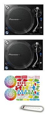 Pioneer(パイオニア) / PLX-1000  2台セット【Pioneer DJ ロゴ入りスリップマットプレゼント!】 6大特典セット