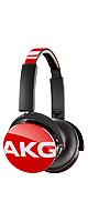 AKG(アーカーゲー) / Y50 (RED) - プレミアムDJスタイル・オンイヤーヘッドホン - ■限定セット内容■→ 【・最上級エージング・ツール 】