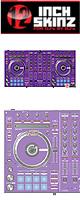 12inch SKINZ / Pioneer DDJ-SX SKINZ (PURPLE) 【DDJ-SX用スキン】
