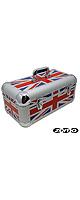 ■ご予約受付■ Zomo(ゾモ) / Record Case RS-250 (UK Flag) - 約250枚収納可能 7インチ用レコードケース  - 【次11月以降予定】