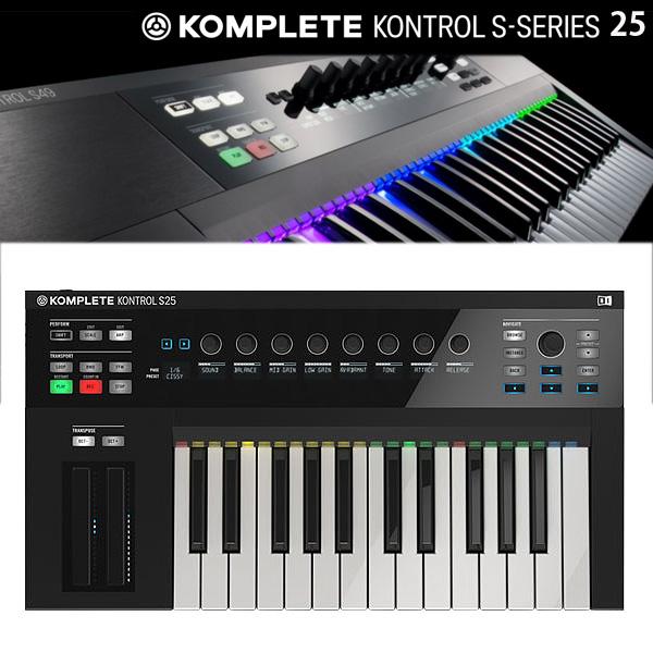 KOMPLETE KONTROL S25 / Native Instruments(ネイティブインストゥルメンツ) - MIDIキーボード25鍵 【次回7月末頃予定】