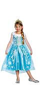 Disguise(ディスガイズ) / 「アナと雪の女王」 エルサ デラックスドレス  (Mサイズ 子供用7歳-8歳) 【ディズニー公式ライセンス】