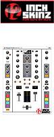 12inch SKINZ / Native Instruments TRAKTOR KONTROL Z2 Skinz (White/Gray) 【Z2 用スキン】
