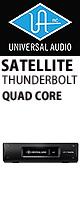 Universal Audio(ユニバーサルオーディオ) / UAD-2 SATELLITE TB QUAD CORE - Thunderbolt接続タイプ DSPシステム -