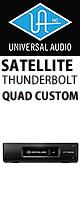 Universal Audio(ユニバーサルオーディオ) / UAD-2 SATELLITE TB QUAD CUSTOM - Thunderbolt接続タイプ DSPシステム -