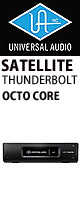 Universal Audio(ユニバーサルオーディオ) / UAD-2 SATELLITE TB OCTO CORE - Thunderbolt接続タイプSHARCチップ8基搭載 -