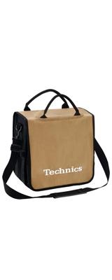 Technics(テクニクス) / BackBag (Gold/White) 【レコード約60枚収納可】 レコードバッグ