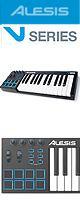 Alesis(アレシス) / V25  【Live Lite 9付属】- 25鍵盤USB MIDIキーボードコントローラ -  ■限定セット内容■→ 【・ヘッドホン(OV-X8)】