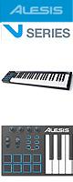 ■ご予約受付■ Alesis(アレシス) / V49  【Live Lite 9付属】AL-KBD-036 - 49鍵盤USB MIDIキーボードコントローラ - 大特典セット
