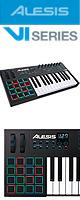 Alesis(アレシス) / VI25  【Live Lite 9付属】- 25鍵盤USB MIDIキーボードコントローラ -  ■限定セット内容■→ 【・ヘッドホン(OV-X8)】