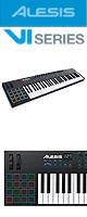 Alesis(アレシス) / VI61  【Live Lite 9付属】- 25鍵盤USB MIDIキーボードコントローラ -  ■限定セット内容■→ 【・ヘッドホン(OV-X8)】