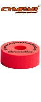 "CYMPAD(シンパッド) / Chromatics  Cymbal Washer ""Red"" 40×15mm 5個セット [LCYMCRM5SET15RD] クロマティクス  レッド - シンバルワッシャー-"