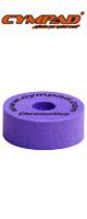 """CYMPAD(シンパッド) / Chromatics  Cymbal Washer """"Purple"""" 40×15mm 5個セット [LCYMCRM5SET15PU] クロマティクス  パープル - シンバルワッシャー-"""