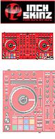 ■ご予約受付■ 12inch SKINZ / Pioneer DDJ-SX2 SKINZ(RED) 【DDJ-SX2用スキン】
