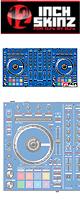 ■ご予約受付■ 12inch SKINZ / Pioneer DDJ-SX2 SKINZ(BLUE) 【DDJ-SX2用スキン】