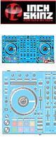 ■ご予約受付■ 12inch SKINZ / Pioneer DDJ-SX2 SKINZ(Lite BLUE) 【DDJ-SX2用スキン】