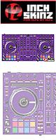 ■ご予約受付■ 12inch SKINZ / Pioneer DDJ-SX2 SKINZ(PURPLE) 【DDJ-SX2用スキン】