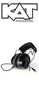 KAT Percussion / KTUI26 - ドラマー用アイソレーション 超防音ヘッドホン - 1大特典セット