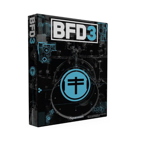 Fxpansion(エフエックスパンション) / BFD3 - 音楽ソフト アコースティック・ドラム音源 -