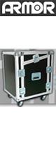 ARMOR(アルモア) / [8U] スロープ付ミキサー&ラック 【4pieces/D450】 -ラックケース- ※受注生産商品※