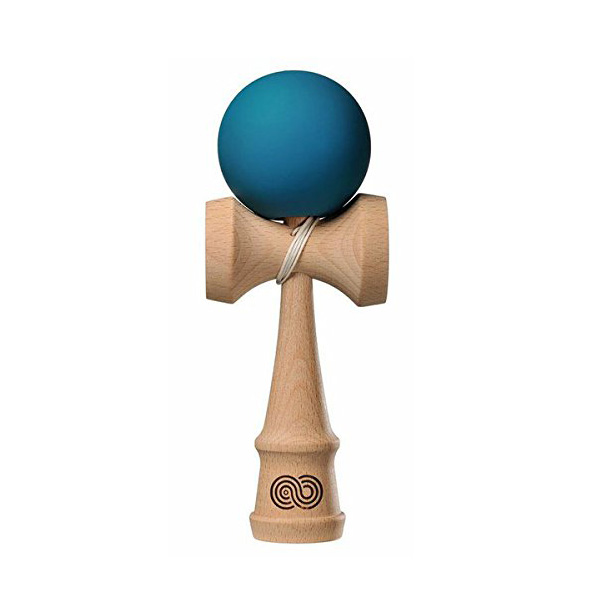 Kendama USA(けん玉USA) / Kaizen Beech Wood (Turquoise) - 改善シリーズ -