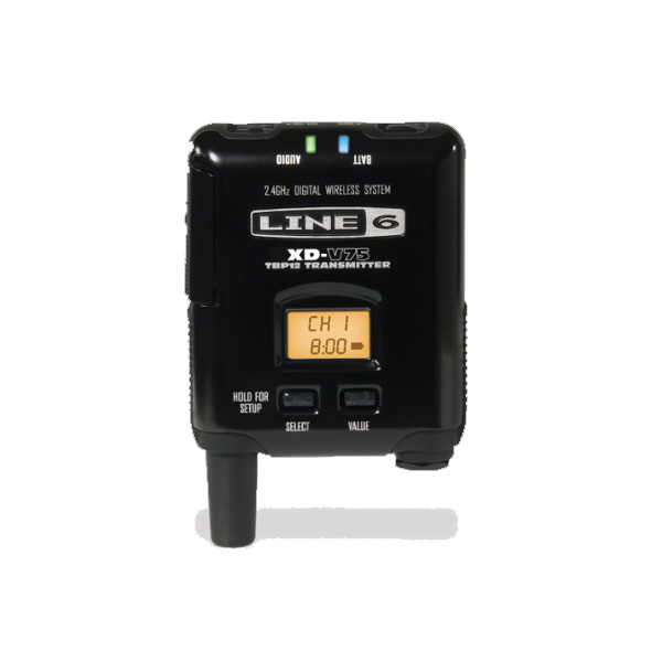 LINE6(ラインシックス) / V75-BP - XD-V75用 14チャンネル ボディパック型 トランスミッター -