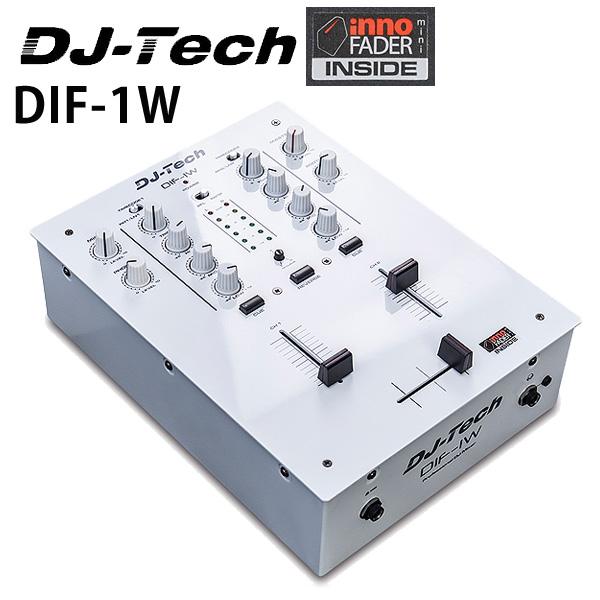 DJ-Tech (ディージェーテック) / DIF-1W 限定カラー- 非接触型クロスフェーダー搭載 [2チャンネルスクラッチミキサー] -