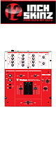 12inch SKINZ / Vestax PMC-05 PRO3 Skinz (RED)  【PMC-05 PRO3 用スキン】