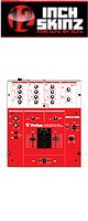 12inch SKINZ / Vestax PMC-05 PRO3 Skinz (RED)  【PMC-05 PRO3 用スキン】